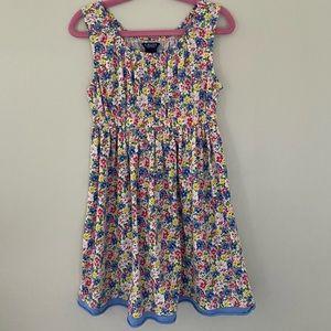 Ralph Lauren CHAPS Cotton Jersey Floral Tank Dress